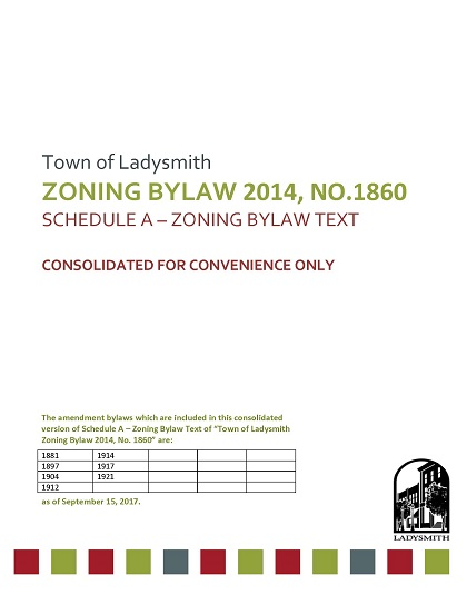 2017.09.27 Zoning Bylaw Consolidation Cover