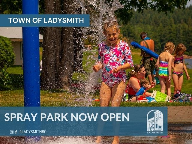 Spray Park Now Open