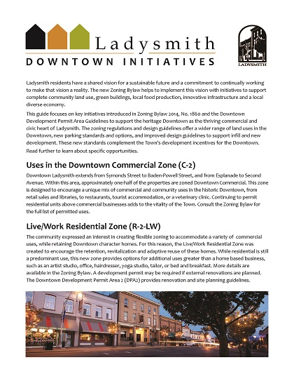 Downtown Initiatives