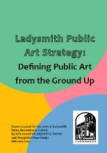 Public Arts Strategy Front Cover