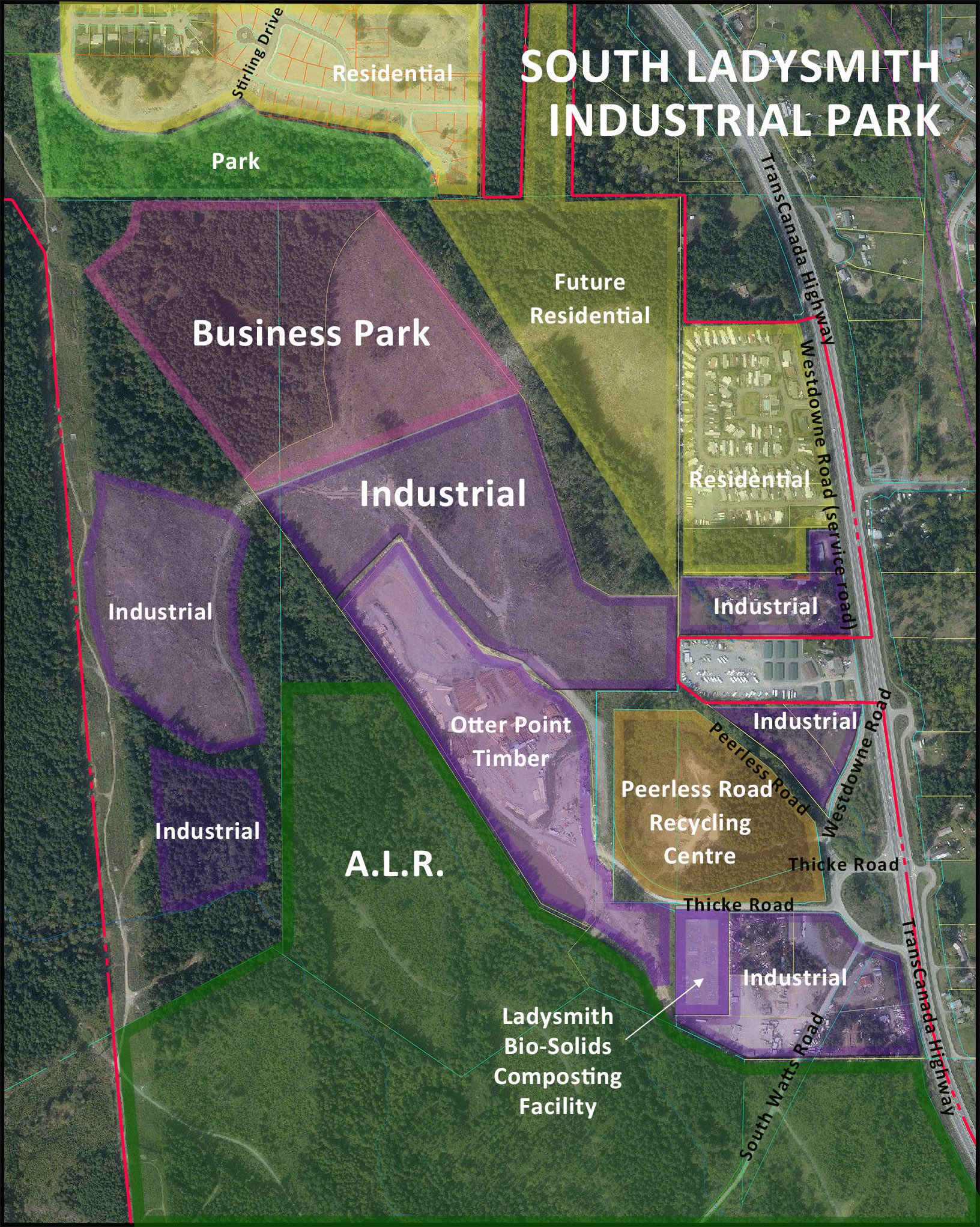 South Ladysmith Industrial Park_ed with bio solids